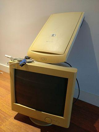Monitor PC y Escaner