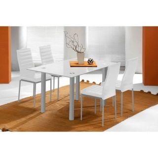 Mesa de comedor con 4 sillas blancas de segunda mano por - Mesas de segunda mano en valencia ...