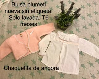 Blusa plumeti t 6 meses