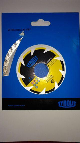 Disco de corte para radial