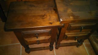 mesitas antiguas madera de calidad