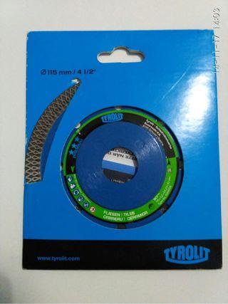 Disco corte para radial