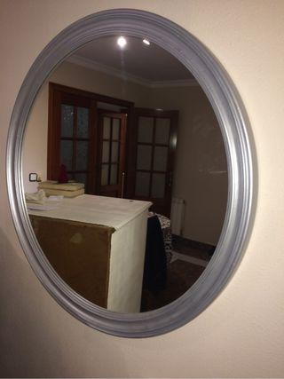 espejo tocador de segunda mano por 20 en tarragona