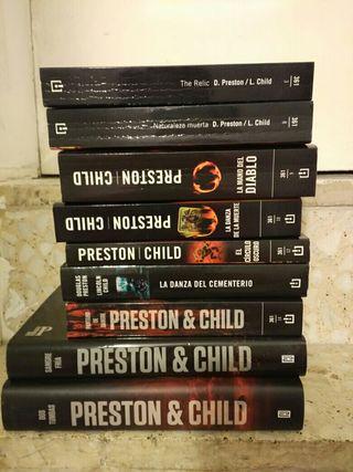Libros saga Pendergast