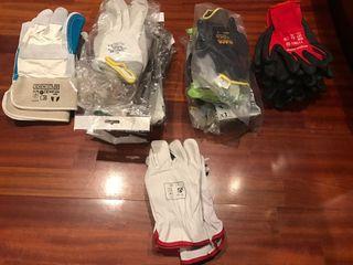 26 pares de guantes seguridad