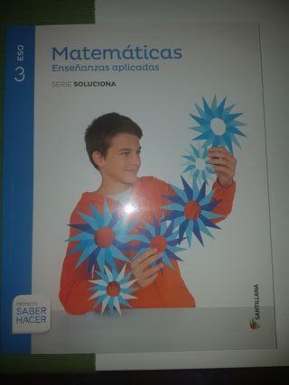 libro de matematicas Enseñanzas aplicadas 3ro.ESO