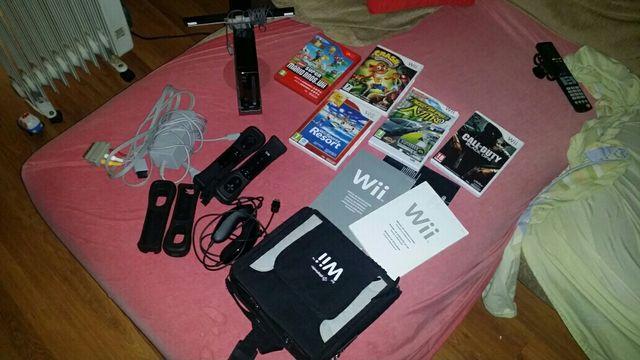 OFERTA! consola nintendo wii +accesorios y juegos