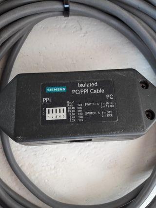 cable programación S7-200