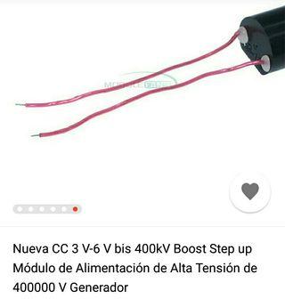 módulo de alta tensión de 400000v generador