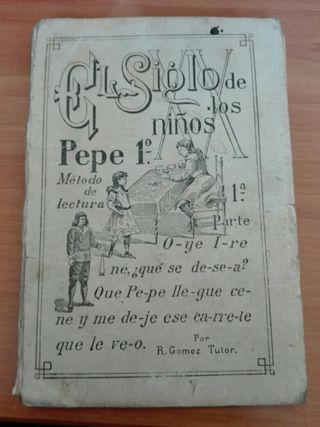 Antigua Cartilla para aprender a leer