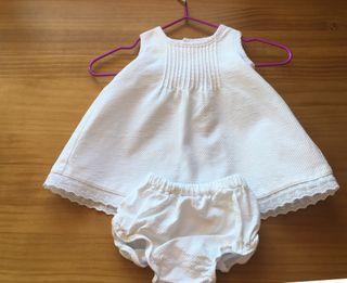 Vestido bebe niña T0-1mes