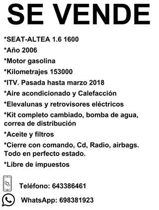 SEAT Altea 2006