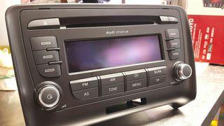 vendo radio nueva de audi tt.modelo 2007