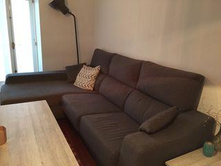 Sofá chaise longue con garantía