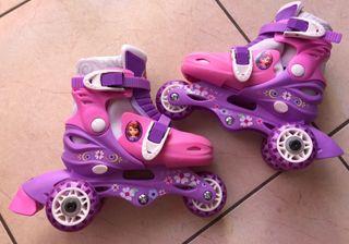 Patins/patines princesa sofia