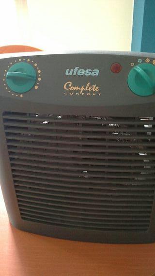 Ventilador con opción de aire caliente