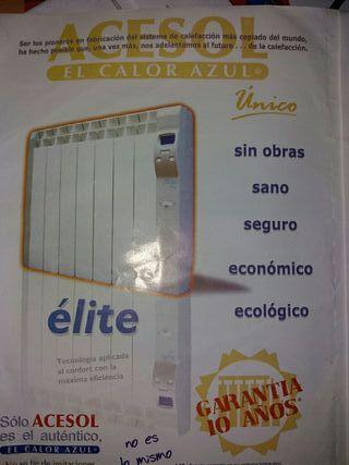 EMISORES TÉRMICOS MARCA ACESOL