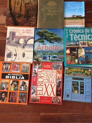 Muchos libros!!! 1€