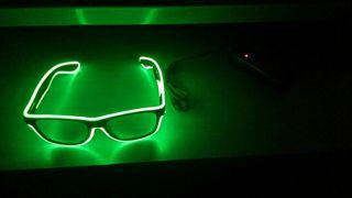 Gafas de neon