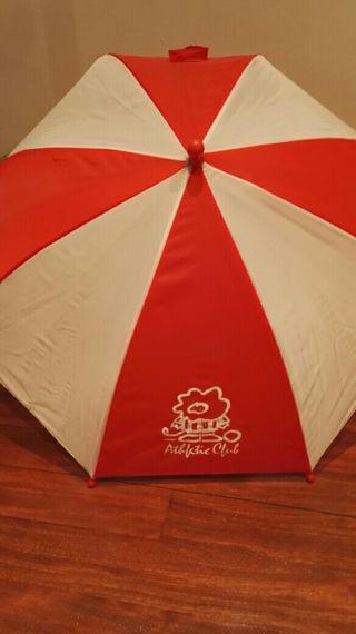 Paraguas infantil del Athletic.
