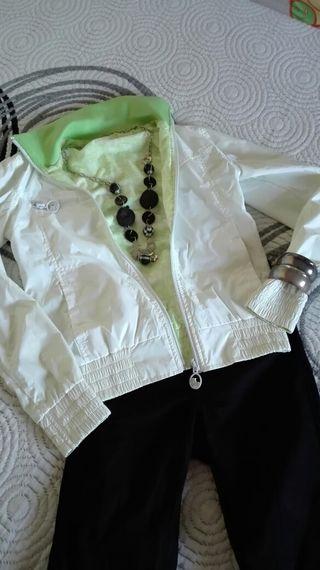 chaqueta reversible Bershka