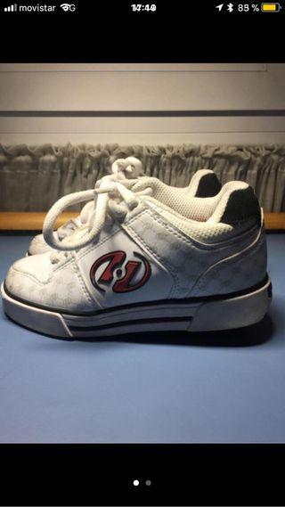 Zapatillas com ruedas