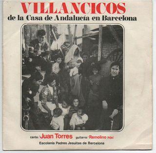 Villancicos de la casa Andalucía de Barcelona