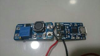 microusb + elevador de potencia 0/30V bricos