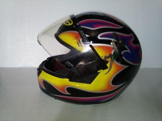 Moto casco Axo
