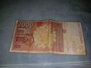 billete 2000 pesetas de 1992
