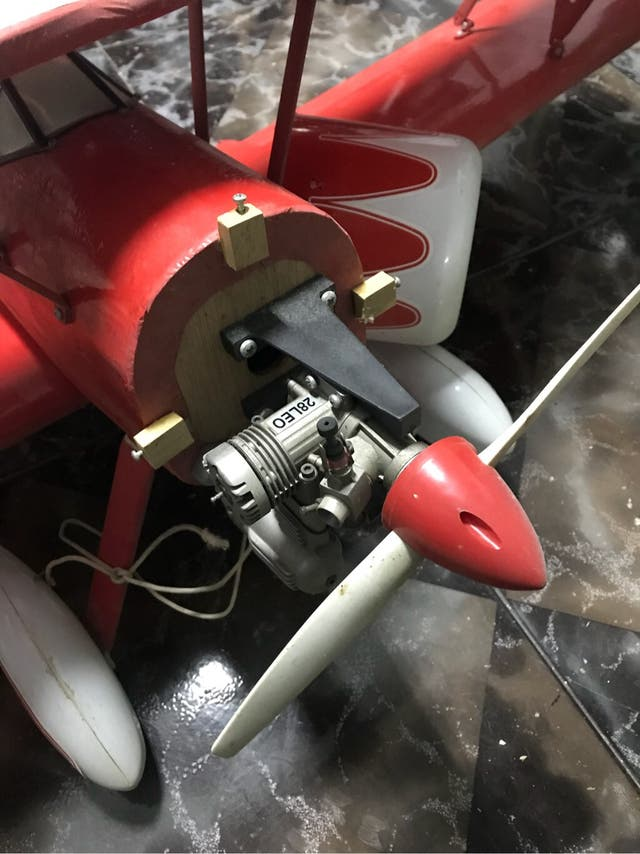 Avión rc
