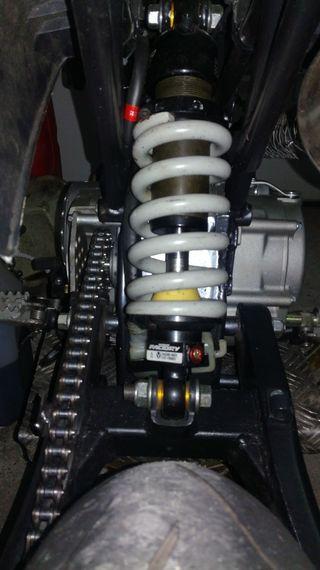 amortiguador pitbike YZF FACTORY