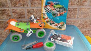 Juguete construcción vehículos