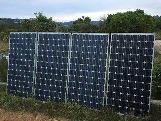placas solares 24v 210w