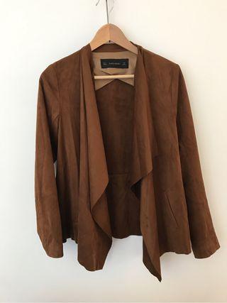 Chaqueta Zara marrón