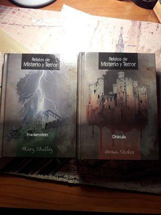 Libros: Frankenstein y Drácula