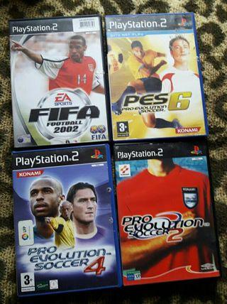 juegos futbol ps2