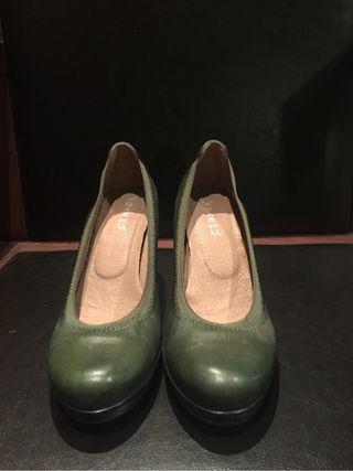 Zapato tacón comfort