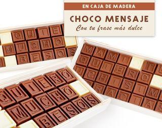 Mensaje de Chocolate