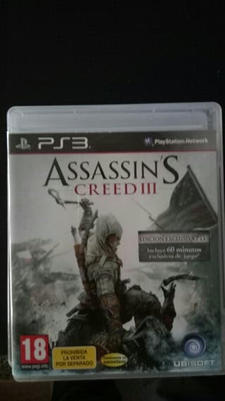 Assessin's Creed 3 PS3