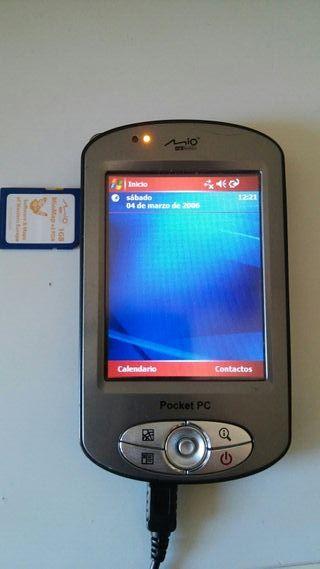 Ordenador Pocket PC Digiwalker MIO.