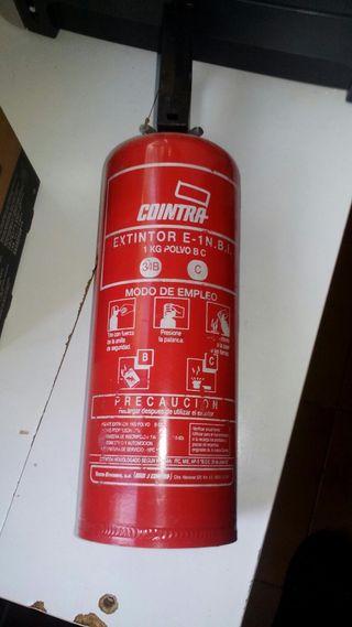 extintor para coche