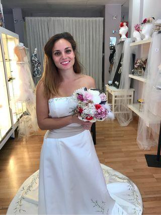 Ramo novia, flor preservada