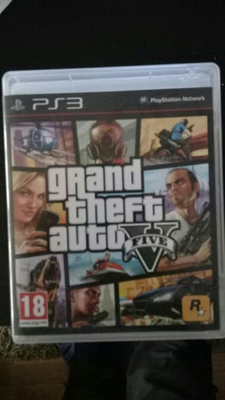 GTA 5 PS3 - Grand theft auto V