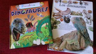 2 Libros nuevos de Dinosaurios