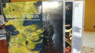 Serie juego de tronos 1-2-3
