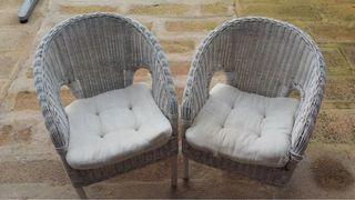 Childrens chairs x2