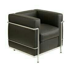 Butaca Vintage Le Corbusier negra