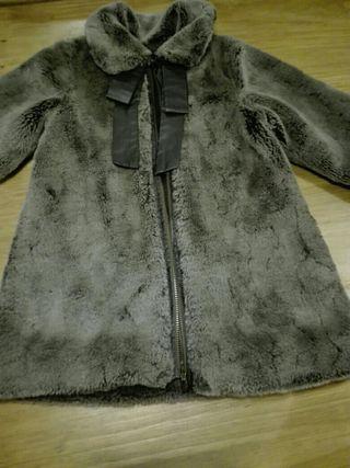 precioso abrigo Lili Gaufrette de pelo