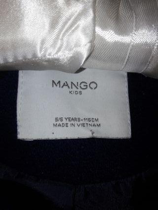 abrigo Mango 5-6